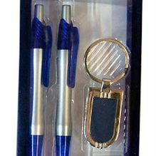 Double Pen with Keyring