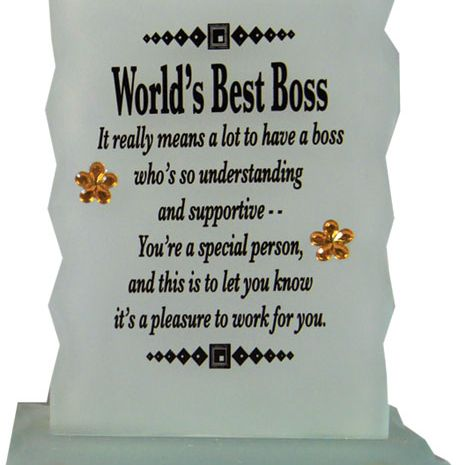 WORLDS BEST BOSS