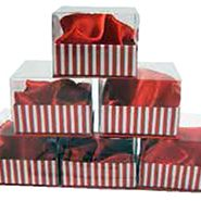 SML BOXES WITH WINDOW LID