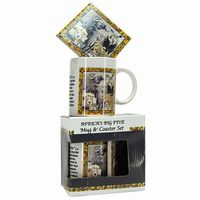 Big 5 Mug & Coaster Set