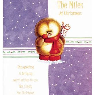 Christmas Cards - Across the Miles
