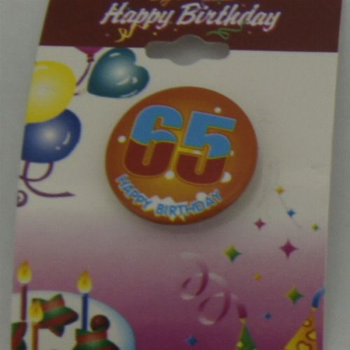 Small Birthday Badge
